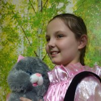 С кошечкой... :: Anna Gornostayeva