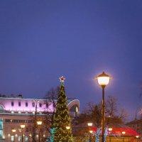 Москва Новогодняя :: Сергей Басов