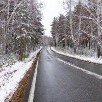 Уральские дороги в октябре :: Светлана Игнатьева
