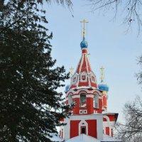Церковь Дмитрия на крови г.Углич Ярославская область :: Anton Сараев