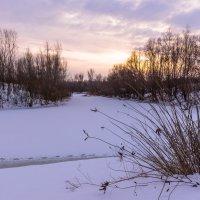 Зимний закат :: Ирина Краснобрижая