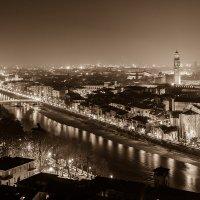 Река Adige, Верона. :: Aнатолий Бурденюк