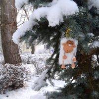 Овца пришла и принесла зиму :: Marina Timoveewa
