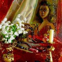 Натюрморт с портретом :: Самохвалова Зинаида