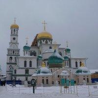 Возрождаемый  облик Воскресенского собора. :: Galina Leskova