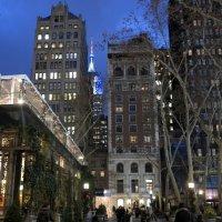 Вечер в центре Нью Йорка :: anna borisova