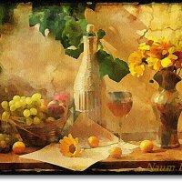 Натюрморт в желтых тонах :: Лидия (naum.lidiya)