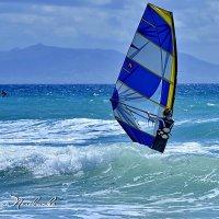 Проба ветра.  Гибралтарский пролив. :: Виталий Половинко