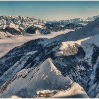 Австрия... ледник Китцштайнхорн – находящийся на высоте 3203 метров... :: Александр Вивчарик