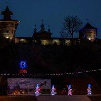 Снеговики штурмуют Мозырскую крепость :: Ирина Приходько