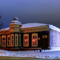 Деревянные дома :: Sergey Kuznetcov