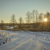Зимний вечер :: N. Efimkina