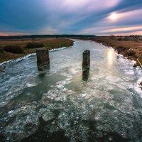 Река Шешупе во льду :: Игорь Вишняков