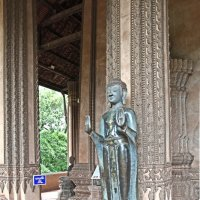 Лаос. Вьентьян. Статуя Будды :: Владимир Шибинский