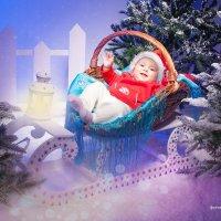 Санта в рождество :: Ирина Митрофанова студия Мона Лиза