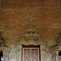 Лаос. Вьентьян. Дверь в древний храм :: Владимир Шибинский