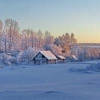 Свет зимней зари :: Валерий Талашов