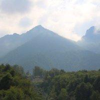 Горы в облаках :: Damir Si
