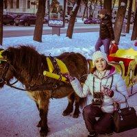 Портрет коллеги в Рождество!))))))))) :: игорь козельцев