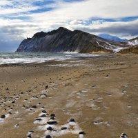 Зимний пляж :: Геннадий Валеев