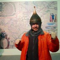 Воин в шлеме, снял с экспоната..... :: Екатерина Василькова