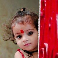 Индийская девочка :: Анастасия Нефедьева