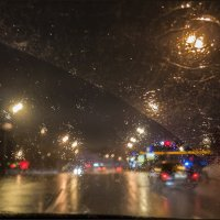 Дождливый вечер января... :: Наталья Rosenwasser