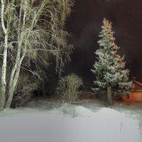 Мой поселок в новогоднюю ночь :: Павлова Татьяна Павлова