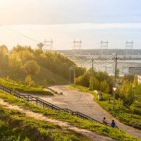 Чебоксарская ГЭС :: Анна Каркуша