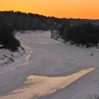 Вечером на реке :: Андрей Куприянов
