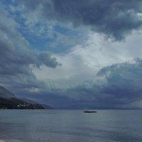 облака над проливом Корфу :: Алексей Меринов