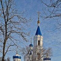 Ремонт церквушки :: Юрий Слюньков