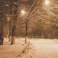 Тихий зимний вечер :: Юлия Пахомова
