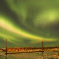 Чудо света - Северное сияние :: Александр Велигура