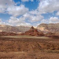 Спиральная гора Израиль, пустыня Арава, Тимна парк :: Владимир Горубин