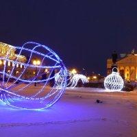 Зимний вечер в городе :: Наиля