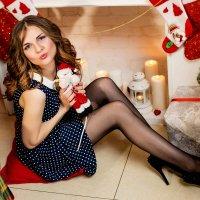 Подружка Санты :: Анастасия Кузовлева