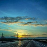 morning on road :: Alena Kramarenko