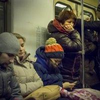Люди в метро. Думы мои, думы ... :: Алексей Окунеев