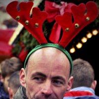 Рождество в Дрездене. Олени тоже курят... :: Ольга Нарышкова