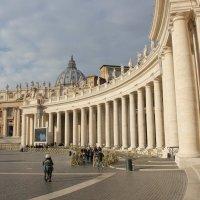площадь Святого Петра в Ватикане :: Ольга