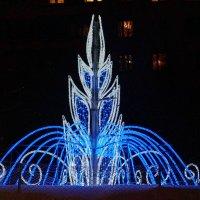 фонтан с подсветкой :: Ирина ***