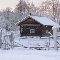 У леса на опушке жила зима в избушке....... :: Павлова Татьяна Павлова