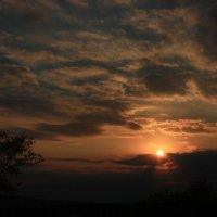 Пламенел закат :: Татьяна Сухова