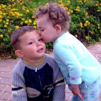 Первый поцелуй :: Leonid Korenfeld