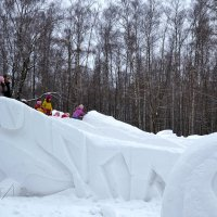 На снежной горке :: Владимир Болдырев