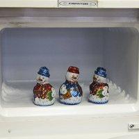 Утро 12 января 2015 Морозильная камера :: Ирина Шарапова