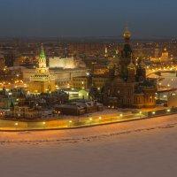 Собор Благовещения Пресвятой Богородицы и Благовещенская башня :: Сергей Канашин