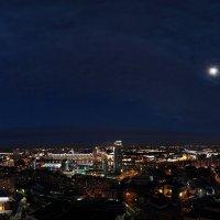 Минск. Ночная панорама :: Edward Zhilinsky