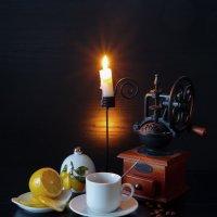 С кофе :: Евгений